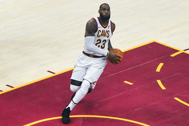 LeBron James: An NBA Finals history