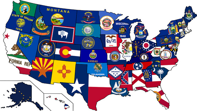 Which state has won the most professional sports championships?